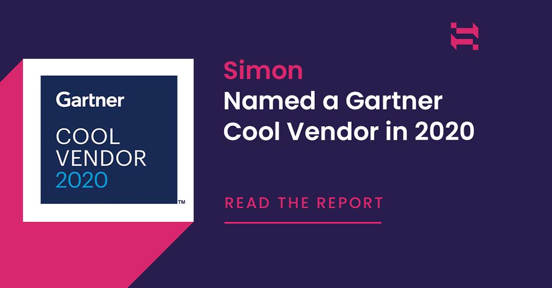 Simon Named a Gartner Cool Vendor for Multichannel Marketing 2020