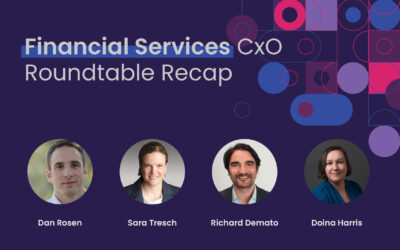 Financial Services CxO Roundtable Recap