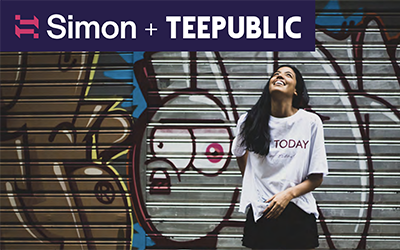 How TeePublic increased incremental revenue by 166% with Simon