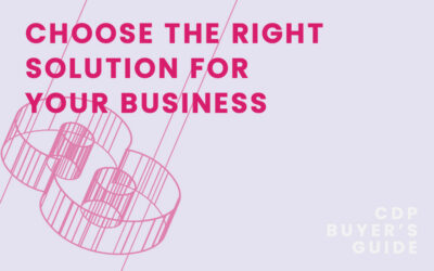 CDP Buyer's Guide Chapter 8 – Choosing the right solution for your business