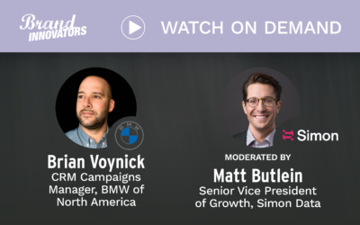 Brand Innovators Livecast: How BMW is Building a Seamless Experience for its Customers